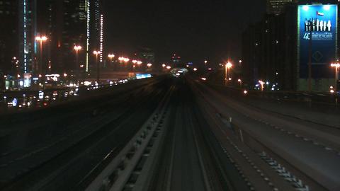 Dubai metro Stock Video Footage