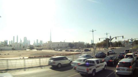 Bus tour time lapse Stock Video Footage