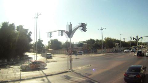 Bus tour time lapse Live Action