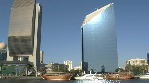Sunshine skyscraper Footage
