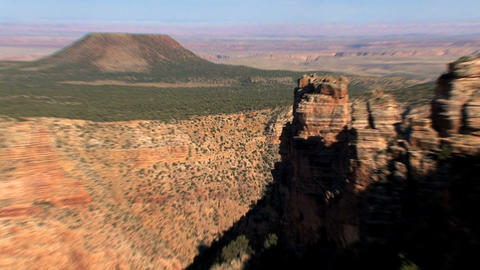 Zoom out Grand Canyon Stock Video Footage