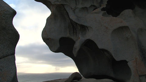 Close up from the Remarkable Rocks Stock Video Footage