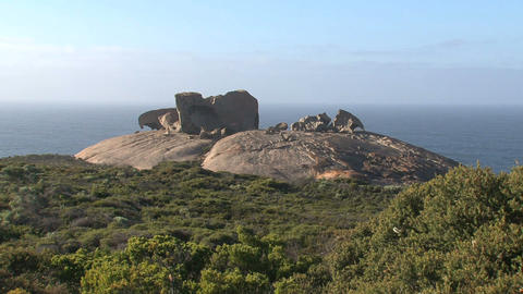 Overview from the Remarkable Rocks Footage