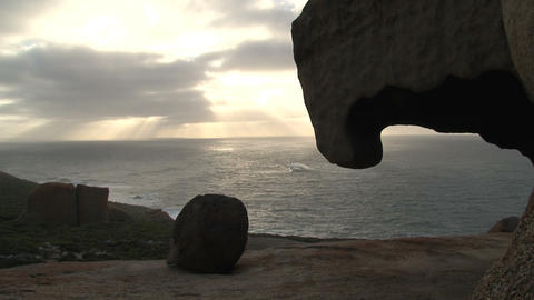 Remarkable Rocks time lapse Footage