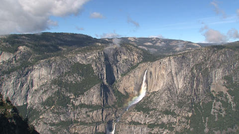 Yosemite National Park landscape Time lapse Footage