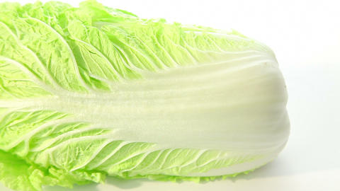 Beautiful chinese cabbage Stock Video Footage