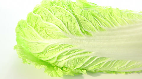Beautiful chinese cabbage Footage