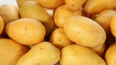 Potatoes - closeup Footage