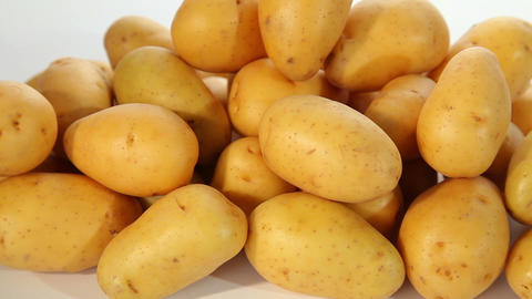 Fresh potatoes Stock Video Footage