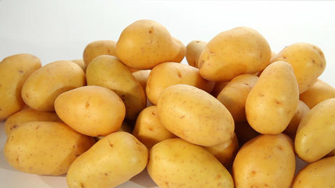Potatoes Stock Video Footage