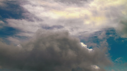 4K Time lapse of cloudy sky Stock Video Footage