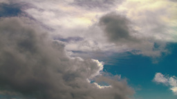 4K Time Lapse Of Cloudy Sky stock footage