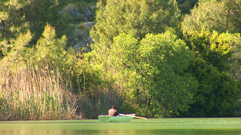 rowing boat Stock Video Footage