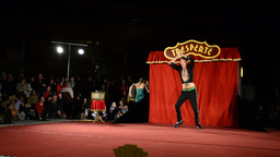 Tresperté Circo Stock Video Footage