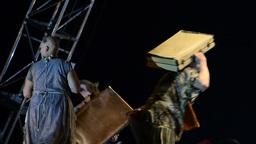 Antagon theater aktion Footage