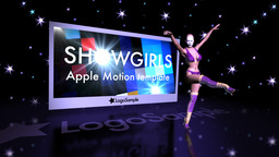 Showgirls Promo Apple Motion 模板