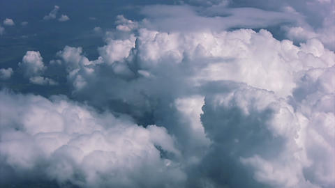 Texture clouds. View from above Footage