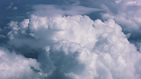 Texture clouds. View from above Stock Video Footage