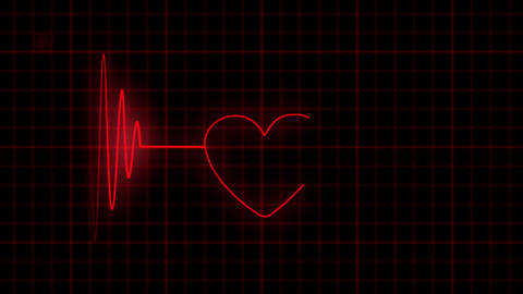Take care of the heart Stock Video Footage