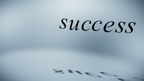 Components Of Success stock footage