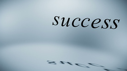 Components of success Stock Video Footage
