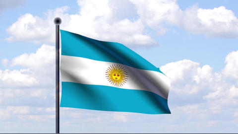 All Flags Of South America / Alle Flaggen Von Südamerika