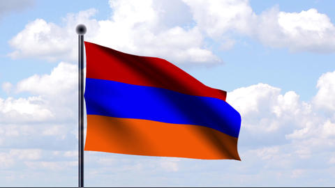 Animated Flag of Armenia / Armenien Animation