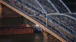 Smithfield Street Bridge Stock Video Footage