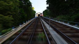 Monongahela Incline Timelapse stock footage