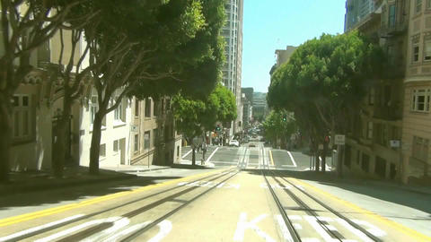 San Francisco Cable Car -1 Stock Video Footage