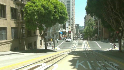 San Francisco Cable Car -1 Footage