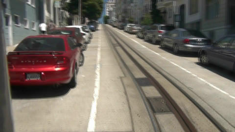 San Francisco Cable Car - 5 Stock Video Footage