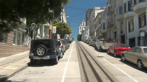 San Francisco Cable Car - 5 Footage
