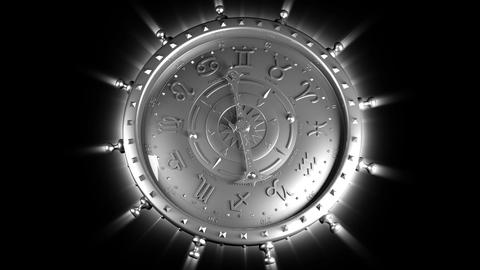 Silver Zodiac Gadget Stock Video Footage