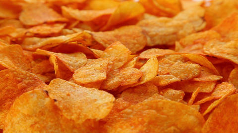 Party chips Stock Video Footage