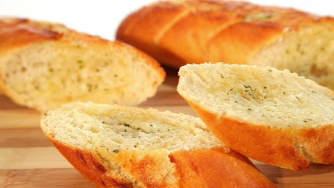 Fresh Baked Baguettes stock footage