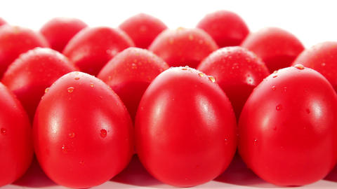 Ripe fresh tomatoes Stock Video Footage