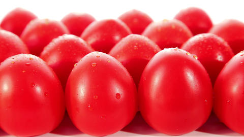 Ripe fresh tomatoes Stock Video Footage