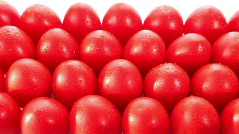 Fresh tasty red tomatoes Stock Video Footage