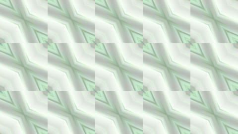 square & rhombus mosaics tile background Animation