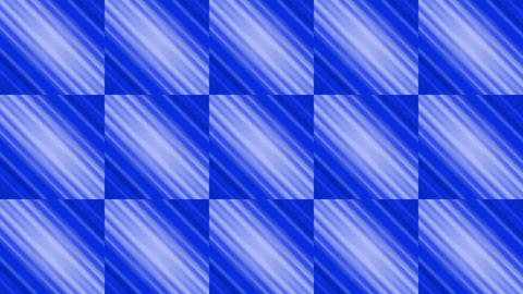 blue square & rhombus mosaics tile background Stock Video Footage