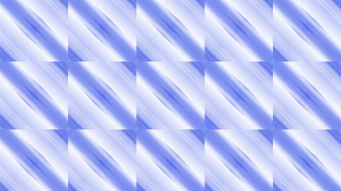 blue square & rhombus mosaics tile background Animation
