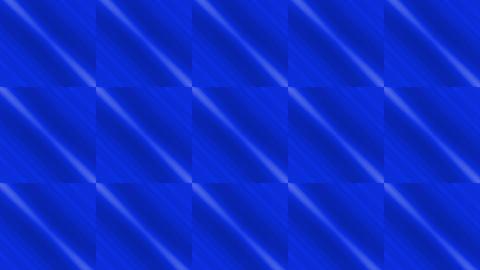 blue square & rhombus mosaics tile background Stock Video Footage