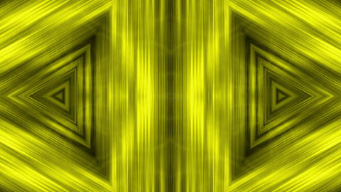 gold metal triangle geometry structure tunnel & fiber…, Stock Animation