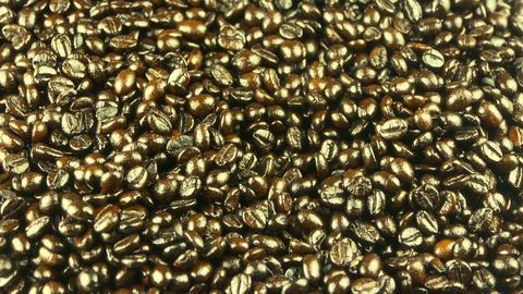coffee beans closeup Footage