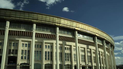 Football Stadium Time Lapse stock footage