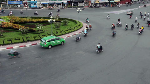 TRAFFIC IN VIETNAM - HO CHI MINH CITY - Time Lapse Footage