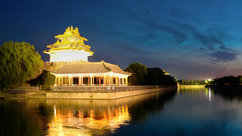 Forbidden City, Beijing, China stock footage