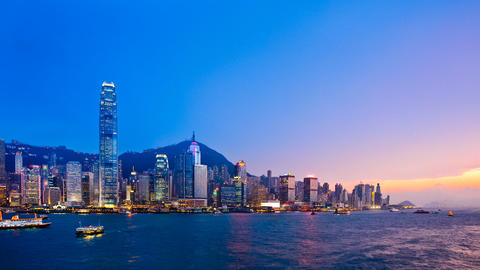 Hong Kong Stock Video Footage