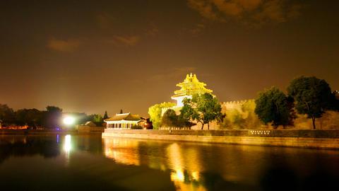 Forbidden City, Beijing, China Stock Video Footage